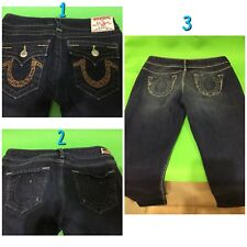 True Religion Womens Jeans Pants 3 Pack/3 Pcs Size 26 Medium USED Good Condition