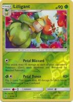 Lilligant 5/145 SM Guardians Rising Reverse Holo Rare Pokemon Card MINT TCG