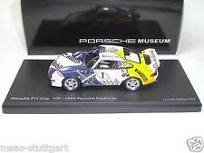 Porsche 911 Cup VIP 1996 Supercup Museum Ltd Edition 750 pcs. Schuco 1:43 NEW