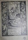1898 - 1899 Ex libris Bookplate Robert Anning Bell Art Nouveau Femme England