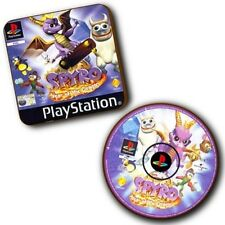 Spyro The Dragon 3 PlayStation PS1 Box Art + Disc Art - Wood Coasters - Set Of 2