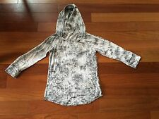 Girls Justice shirt size 10 - 3/4 sleeve and hood