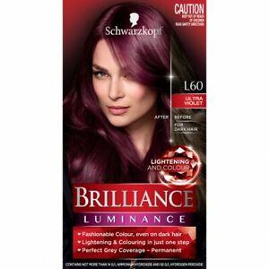 Schwarzkopf Live Brilliance Luminance L60 Ultra Violet Hair Colour