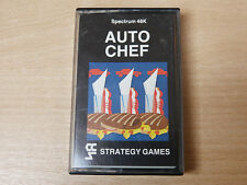 Sinclair ZX Spectrum - Auto Chef by Strategy Games