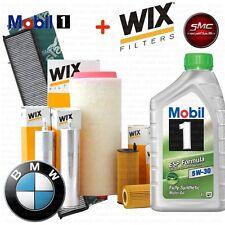 KIT TAGLIANDO OLIO MOBIL + 4 FILTRI WIX BMW 3 (E46) 330 d KW 150 CV 204