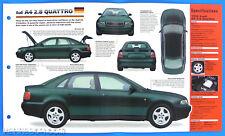 Audi A4 2.8 Quattro Germany 1995-1998 Spec Sheet Brochure IMP Hot Cars 1 #66