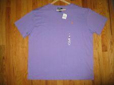 NWT Polo Ralph Lauren Men's Sz XL X LARGE Purple Short sleeve Crew-Neck T Shirt