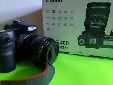 Canon EOS 40D 10.1MP Digital SLR Camera - Black (Kit w/ EF IS USM 28-135mm Lens)