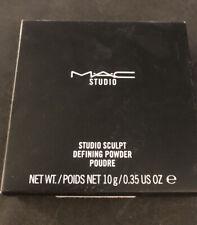 MAC studio sculpt defining powder new in box full size 0.35oz in light