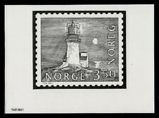 Photo Essay, Norway Sc724 Lighthouse, Lindesnes (1655).