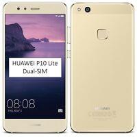 BNIB Huawei P10 Lite Dual-SIM 32GB Platinum Gold Factory Unlocked 4G/LTE Simfree