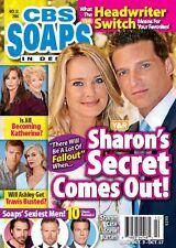 CBS Soaps In Depth Magazine - October 17, 2016 - Sharon Case & Steve Burton