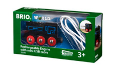 BRIO 33599 Rechargeable Engine with mini USB. Brand new. Free Post with tracking