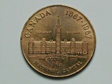 Ottawa Ontario CANADA 1867-1967 National Capital Medal with Parliament Buildings