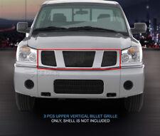 Fedar Main Upper Billet Grille For 2004-2007 Nissan Armada Titan - Black