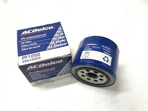 Engine Oil Filter ACDelco Pro PF1250 GM 25014520 / FE00336 FL 820 PH2 1372 7899