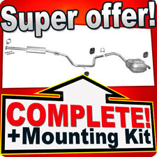 Ford Mondeo Galaxy S-Max 2.0 1.6 TI since 2006 Silencer Exhaust System B59