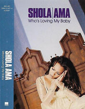 Shola Ama ‎Who's Loving My Baby Cassette Single Electronic House, Downtempo