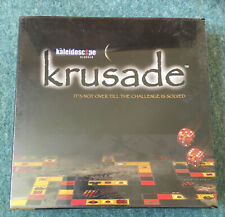 KRUSADE GAME - CRUSADE GAME - SOLVE THE PUZZLE - NEW SEALED - DR WOOD Free P&P