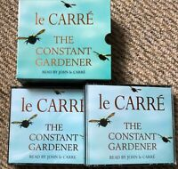 AUDIO BOOK John Le Carre THE CONSTANT GARDENER on 8 x CDs read by the author