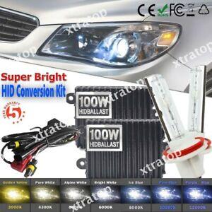 55W 100W HID XENON KIT Headlight Conversion Bulbs Ballast H1 H3 H7 H11 H4 9005/6