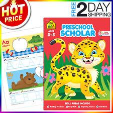 Preschool Workbook Kindergarten Letter Tracing book Early Learning, School Zone