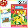 School Zone Preschool Scholar Workbook Kindergarten Letter Tracing book Early L.
