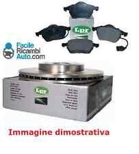 Kit dischi e pasticche freno ant. Fiat Grande Punto 66 kw 1.3D MJ (199) LPR