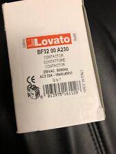 Lovato Contractor BF-32 00A230, 230VAC, 50/60Hz, 400V NEW IN BOX CYBER SALE