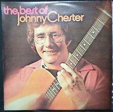 THE BEST OF JOHNNY CHESTER - VINYL LP AUSTRALIA (WITH SLIGHT WARP)
