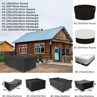 10 Types Housse de protection bache couverture pour meuble de jardin étanche