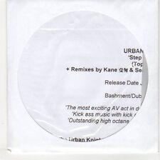 (EH836) Urban Knights, Step On Dem - 2012 DJ CD