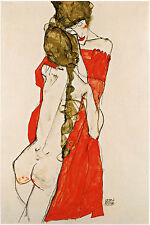 Egon Schiele Reproductions: Mother and Daughter- Fine Art Print