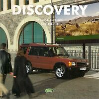 Land Rover Discovery Serengeti Limited Edition 2002 UK Market Sales Brochure