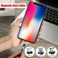3 IN 1 Magnetic Cable Charger Type C IOS Micro USB Charging Cord Adapter Lot
