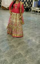 Asian Indian Pakistani Wedding Lengha