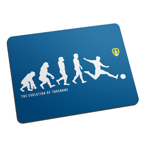 Leeds United F.C - Personalised Mouse Mat (EVOLUTION)
