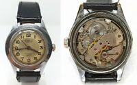 Orologio Roeti mechanical watch vintage clock 17 rubini military style war ww2