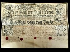 1774 HUNTING LICENSE issued to Anton Peter Příchovský (Archbishop of Prague)