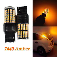 Rear Signal Lights T20 7440 7441 144 SMD Amber LED Bulb K1 For Infiniti H