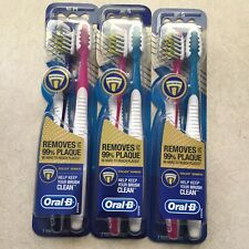 Oral B Soft Vitalizer Advanced Toothbrush (6 Brushes) Removes Up to 99% Plaque