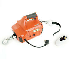450KG 4.6M Household Portable Electric Winch With Wireless Remote Control 220V