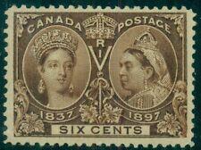 CANADA #55 Mint Hinged, XF, Scott $230.00