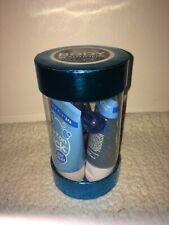 Bath Body Works True Blue Spa 3 Pc Gift Set - Body Cream, Skin Scrub, Massager