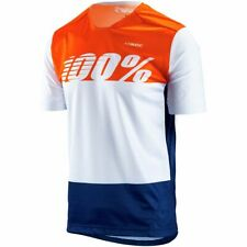 100% Airmatic Jersey White Flag XLG
