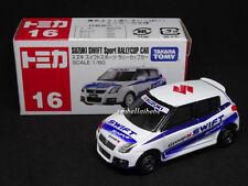 Takara Tomy Tomica #16 Suzuki Swift Sport Rallycup Car 1/60 Diecast Car 016