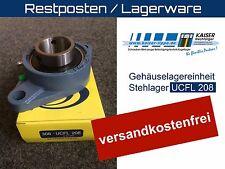 Gehäuselagereinheit, Stehlager, Lagerbock, UCFL 208, 40mm Welle