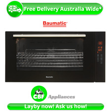 Baumatic BM90S 900mm 90cm Underbench Oven Electric Convection Grill 10 Function