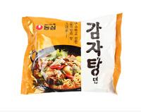 Korean Instant Noodle NONGSHIM GAMJATANGMYEON Potato Soup Style Ramen 3,5pack