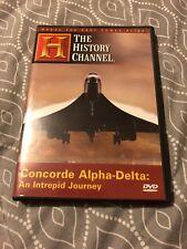 Concorde Alpha-Delta (DVD, 2005) USS Intrepid Final Journey THC NEW Sealed